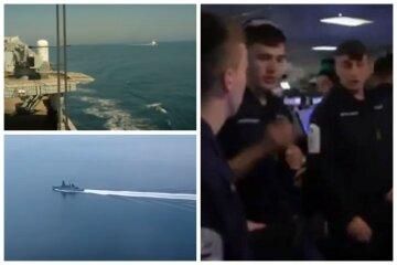"""""""Вогонь"""" РФ по британському есмінцю: BBC показало відео зсередини корабля"""