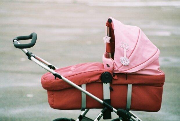 коляска, ребенок