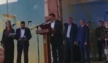 На Одесчине топ-чиновник едва не сломал язык, пытаясь говорить на украинском: видео конфуза