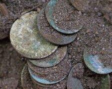 клад, монеты, сокровища