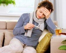 грипп, простуда, температура