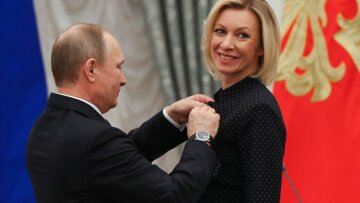 Захарова и Путин