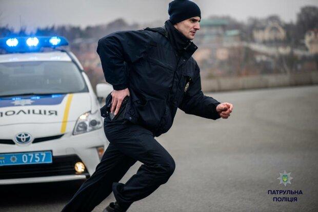 полицейский, авто