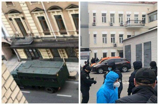 Військова техніка увійшла в центр Києва, за українцями влаштували стеження: кадри подій