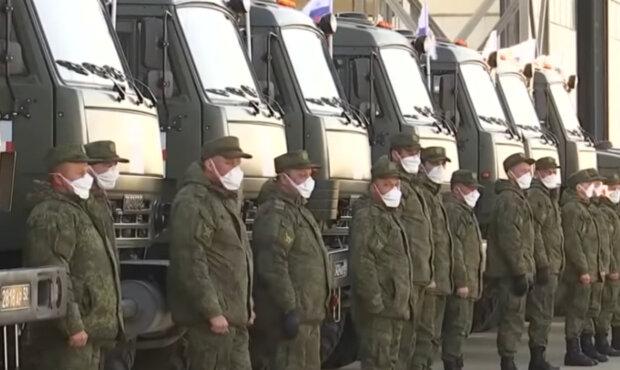 российские военные в Италии