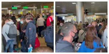 """""""Без теста - нельзя"""": украинских туристов не выпускают из аэропорта, безумные кадры"""