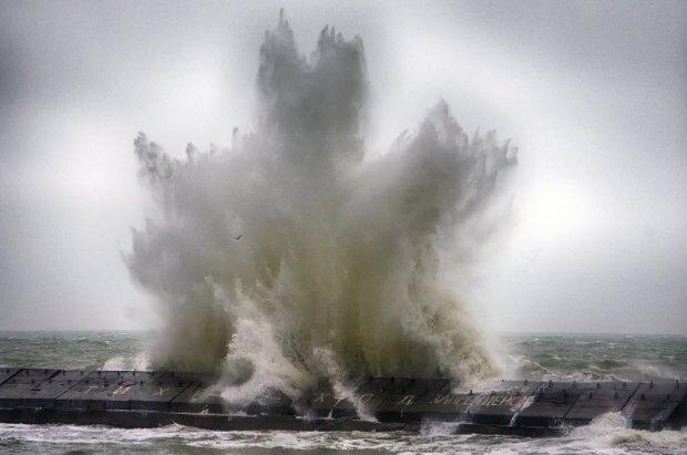 стихия, волна, море