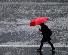 Дождь, ливень, погода, зонт