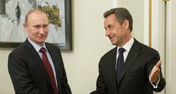 Путин Саркози