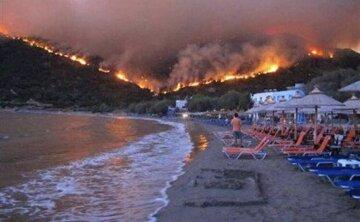 греция-пожар