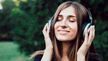 песня, музыка, слушает