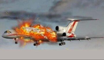 самолет, авиакатастрофа,
