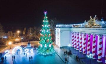 Одесситам показали, как менялась главная елка города за 9 лет:  яркие кадры новогодней красавицы