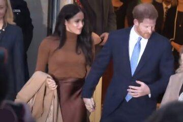 Меган Маркл і принц Гаррі, скрін