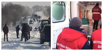 При температуре -16: на Харьковщине в машине скорой начались роды, медики сделали все возможное