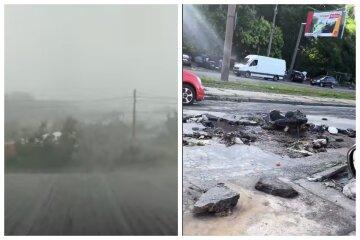 Як після бомбардування: в Одесі показали наслідки потужної зливи, кадри