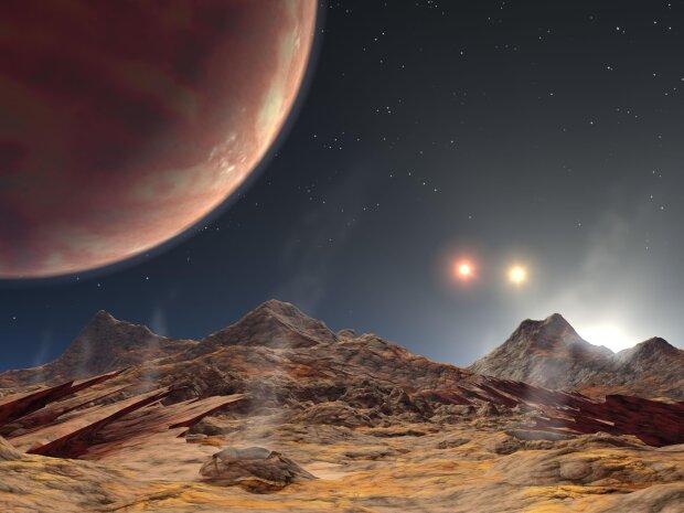 экзопланета, солнце, звезды, космос