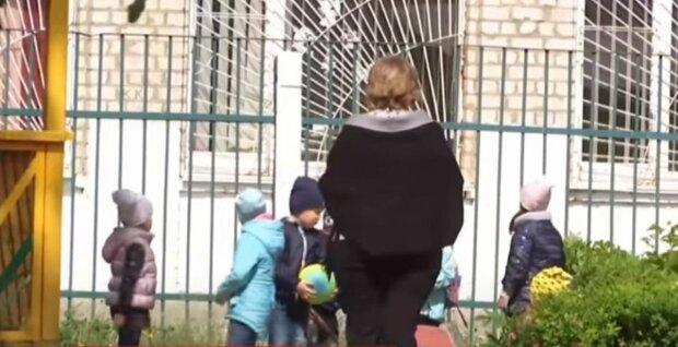 детский сад, детсад, дети, воспитательница