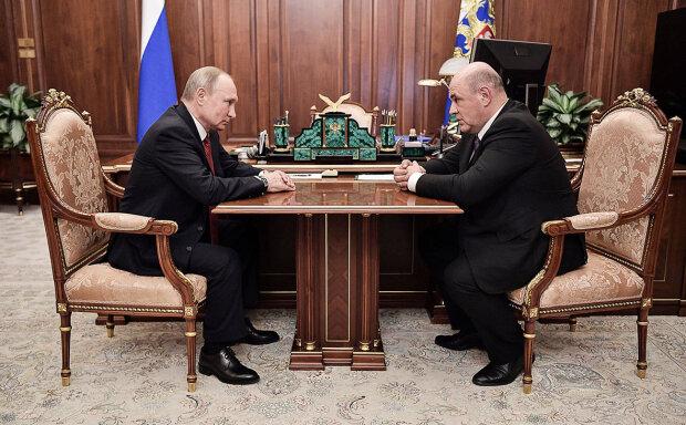 Михаил Мишустин, Владимир Путин