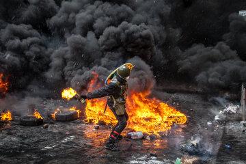 Ночь Гнева во Львове, пожар