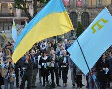 Траурный митинг крымские татары Львов