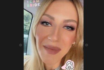"""Щаслива Леся Нікітюк у перловому намисті приголомшила звісткою про весілля: """"Сьогодні..."""""""