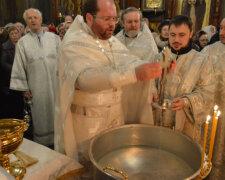 священник, церковь, крещение
