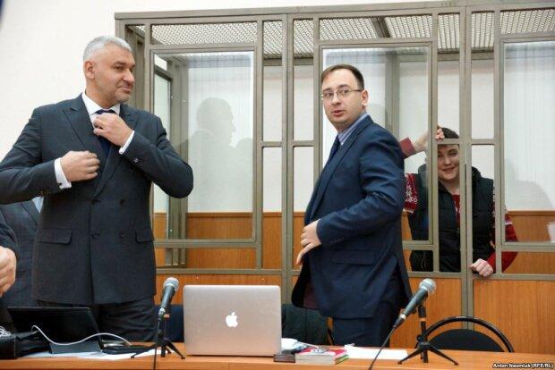 Адвокаты Савченко Марк Фейгин и Николай Полозов