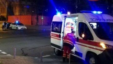 В Киеве пьяный участковый устроил разборки на дороге: все закончилось стрельбой, есть раненые