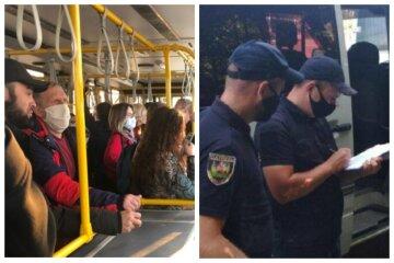 """""""В трамваях вируса нет"""": одесситов возмутили полицейские облавы на маршрутки, видео"""