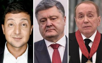 зеленский, масляков, порошенко