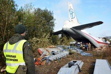 крушения самолета Ан-12 возле Львова