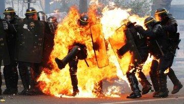 париж, протест