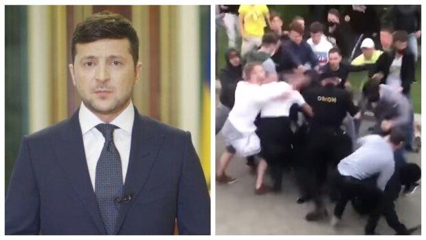 Рекордный скачок доллара, важное заявление Зеленского и зачистка «Майдана» - главное за ночь