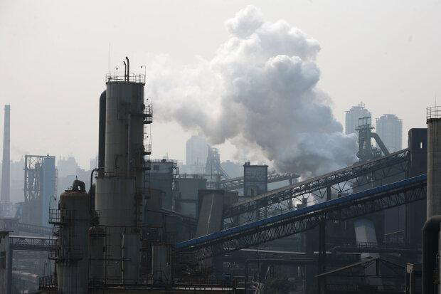 Завод, екологія, дим