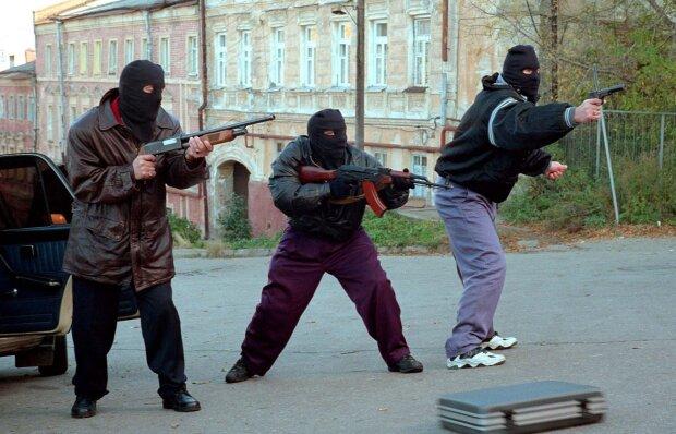 ЧП, бандиты, лихие 90-е