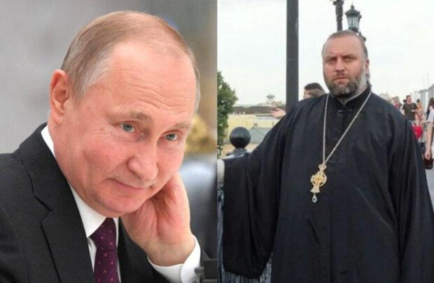 """""""Здоров'я на многая літа"""": священник з Волині мило привітав Путіна, і розгнівав парафіян"""