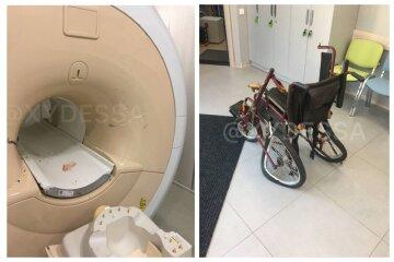 МРТ-апарат засмоктав пацієнта, який прийшов на обстеження: кадри і деталі моторошної НП в Одесі