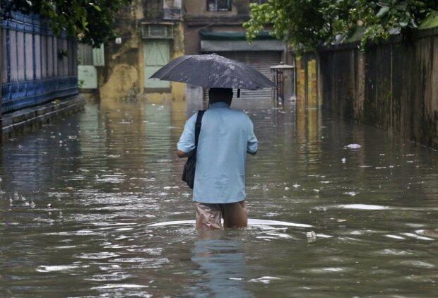 ливень, наводнение, дождь