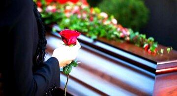 гроб траур похорон могила