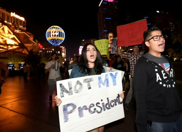 США-протест