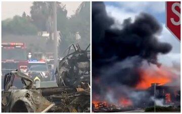Самолет рухнул недалеко от школы, дома и машины в огне: появились данные о жертвах