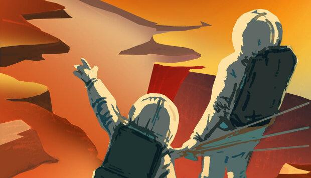 Марс-плакат