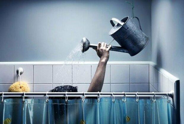 душ вода ванная
