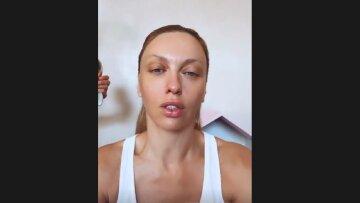"""Полякова вошла в раж и отдраила полы в прямом эфире, заставив ведущего понервничать: """"Все, остановись"""""""