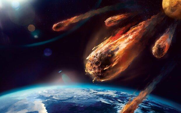 астероид, космос, галактика, конец света