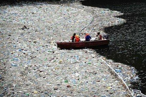 Горы мусора плавают в Тихом океане — фото, видео