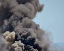дым, взрыв