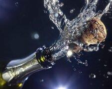 Выстрел пробки шампанское