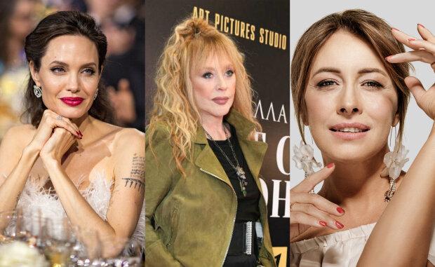 """Олена Кравець, Анджеліна Джолі, Пугачова та інші зірки, у яких народилася """"королівська двійня"""": яскраві фото"""
